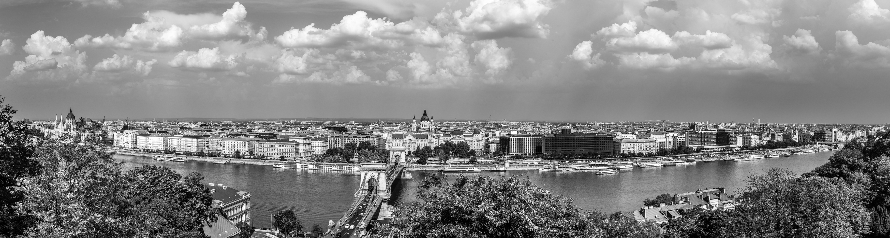 View of the beautiful city of Budapest